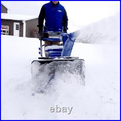 100-Volt Ionpro 24 In. Cordless Dual-Stage Snow Blower With 2 X 5.0 Ah Batteries