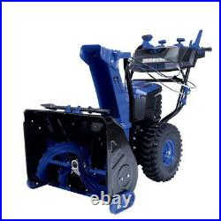 100-Volt iONPRO 24 in. Cordless Dual-Stage Snow Blower with 2 x 5.0 Ah and
