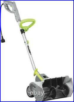 16 12 Amp Corded Electric Shovel Blower Adjustable Handle Walkway Snow Thrower