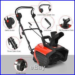 18-Inch 15 Amp Electric Snow Thrower Corded Snow Blower 720Lbs/Minute Outdoor