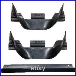 2 Ariens Auger Paddle Impeller Half & 1 Scraper SS522 SS322 Snow Thrower Blower