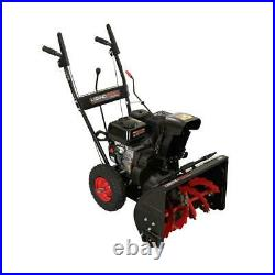 22 in. Two-Stage Gas Snow Blower with Recoil Start by Legend Force