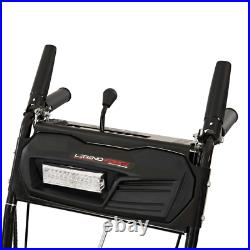 24 in. Two-Stage Gas Snow Blower with Electric Start