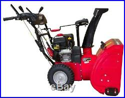 26 in. 212cc 2-Stage Electric Start Gas Snow Blower with Headlight