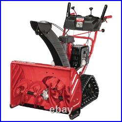 28 In. 277 Cc Two-Stage Gas Snow Blower With Electric Start And Track Drive And