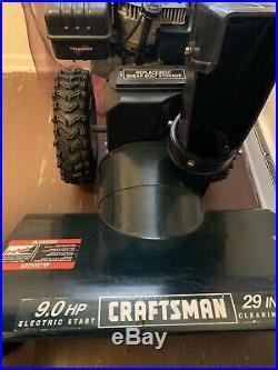 29 Inch Craftsman Snow Blower