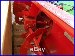 3 PT Snow Blower ber-vac se 51 Kubota I new condition used Twice