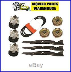 3 Repl Cub Cadet Mtd Mower Deck Rebuild Kit 918-04126a 954-04044a 942-04053 Rzt