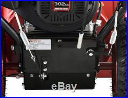 30 inch 302cc Two-Stage Electric & Recoil Start Gas Snow Blower Snow Thrower