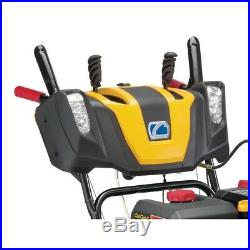 3X 26 in. 357cc Track Drive Three-Stage Electric Start Gas Snow Blower with Stee