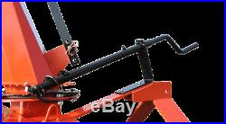 68 3-Point, Pull-Type Meteor Snow Blower with Skid Shoes & Man Chute Rotation