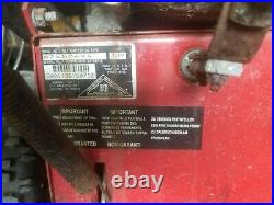 8 Hp Murray 24'' Wide #624804X4 Gas Engine 2x Stage Snowblower withelectric Start