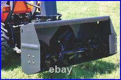 9 foot 1000 rpm super heavy duty snowblower