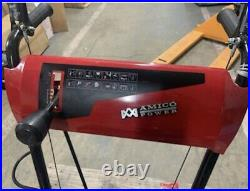 Amico 22 inch 212cc Two-Stage Electric Start Gas Snow Blower Thrower