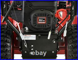 Amico Power 28 in. 252cc Two-Stage Electric & Recoil Start Snow Blower, New