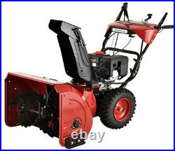 Amico Power 28 inch/252cc Gas Snow Blower, Two-Stage Electric & Recoil Start New