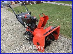 Arians snow blower excellent condition one owner