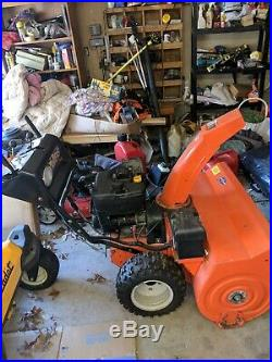 Arien snowblower 36 inch electric start used 2 seasons great condition