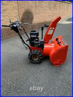 Ariens (28) 250cc Two-Stage Snow Blower. Model 921022. Electric start