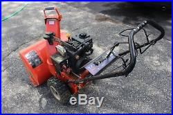 Ariens 524 snowblower 24 195 cc model 932036-electric start 5 hp