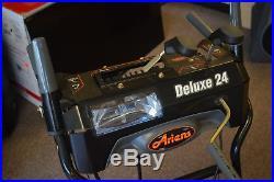 Ariens Deluxe 24'' Snow Blower USED ONE SEASON Pickup NJ