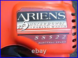 Ariens Ss522 Snowblower Snow Blower Snow Thrower Electric Start