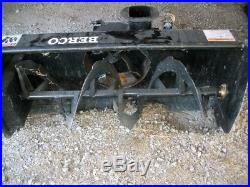 Bercomac 2 Stage 36 Tractor Lawn Mower Belt Driven Snow Blower Model 700255-1