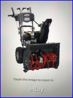 Briggs & Stratton 24 208cc 2-Stage SnowThrower Snow Blower Electric Start NEW