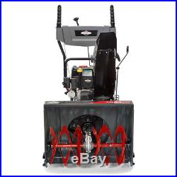Briggs & Stratton 24 208cc 9.5 TP Light Duty Dual Stage Gas Powered Snow Blower