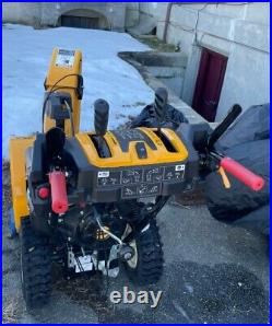 CUB CADET 3X 26 Three Stage Snow Blower very lightly used, serviced annually