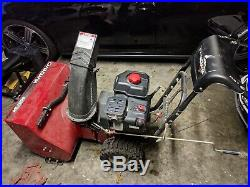 Canadiana 800/24 Snowblower Used Two Stage Briggs & Stratton Engine ++++++++++++