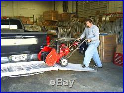 Cargo Carrier withRamp 28 x 60 USA For Loading Snowblowers and Wheelchairs