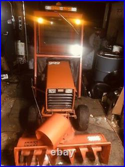 Case Ingersoll Tractor 222 Snow Blower Cab Garden Tractor