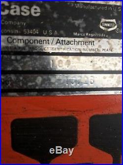 Case L84-78 Snowblower Attachment
