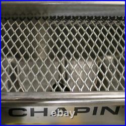 Chapin 82500B 100 LB Stainless Steel Professional Salt Broadcast Spreader