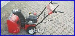 Craftsman 22 Snowblower Pull Star, Hardly Used. Local Pickup only, no delivery