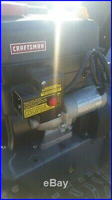 Craftsman 24 179cc Motor Snow Thrower 2014 Gas Electric Start