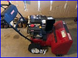 Craftsman 24 Inch Snow Blower- Rarely Used
