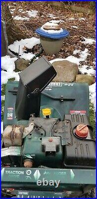 Craftsman 29 Inch 9 HP Snow Blower 2 Stage Thrower Push Button Start Runs Great