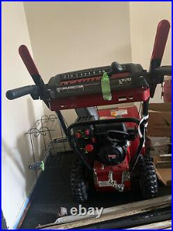 Craftsman Snow Blower 24 Clearing Width Electric Start