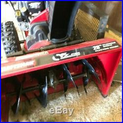 Craftsman snow blower 28in electric or pull start. Local Pick Up