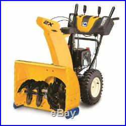 @ Cub Cadet 2X 26 HP Snow Blower Thrower Gas Powered Electric Start 243cc OHV