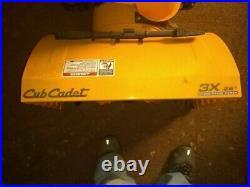 Cub Cadet 3x 26 Three Stage Power Snowblower in Excellent Condition