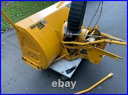 Cub Cadet Model 551 Tractor mounted snow blower 1864, 1863, 1782 Super Condition