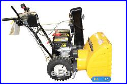Cub Cadet Snow Thrower 2X 24 Two-Stage 208cc OHV Engine, 21 CC-2X-24-PC-SD