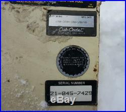 Cub Cadet Snowblower Attachment 190-350 40 Snowthrower