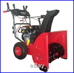 DB72024PA 24 in. 2-Stage Electric Start Self-Propelled Gas Snow Blower with Powe