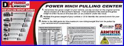 Detail K2 Warrior 15000NH 15,000 LB Hydraulic Winch