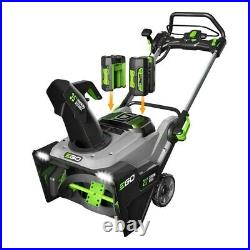 EGO SNT2102 (21) POWER+ Single-Stage Snow Blower with Electric Start Batterie