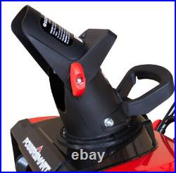 ELECTRIC SNOW BLOWER 18 15 Amp 120V Corded Single Stage